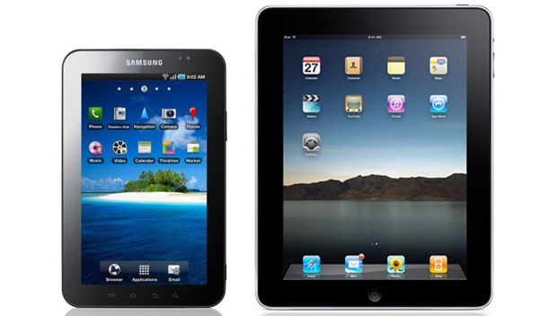 Ipad vs Samsung Galaxy Tablet