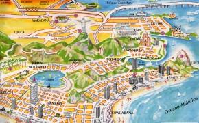 Map of Rio De Janeiro