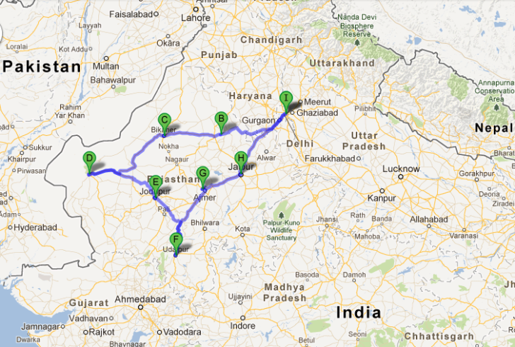 Visiting Rajasthan
