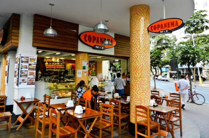 Cafe in Rio De Janeiro