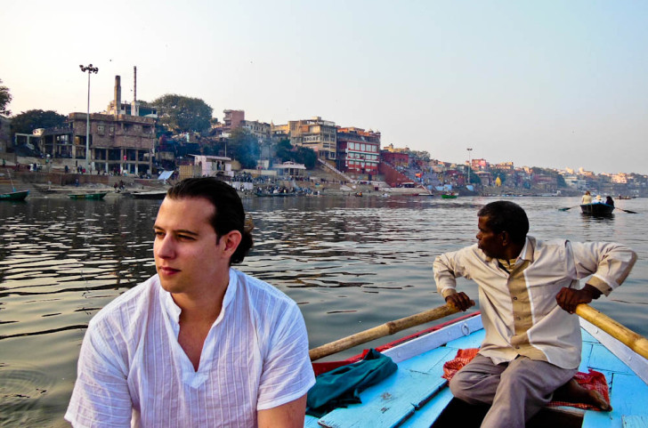 Cruise on Ganges River