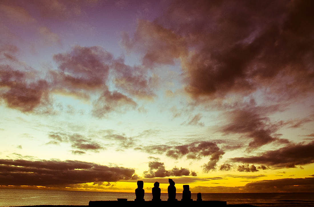 Easter Island Ahu Tahai