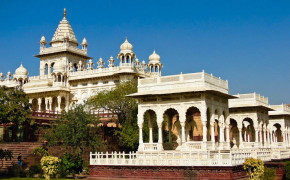 Jaswant Thada Memorial & Mausoleum in Jodhpur India