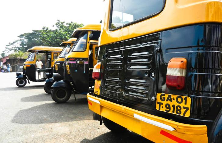 Rickshaw in Goa, India