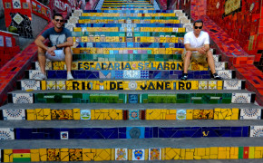 Escadaria Selaron Rio De Janeiro