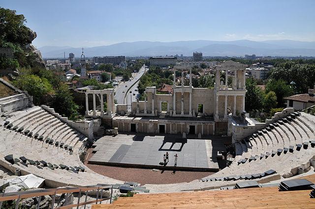 Roman Theatre Plovdiv