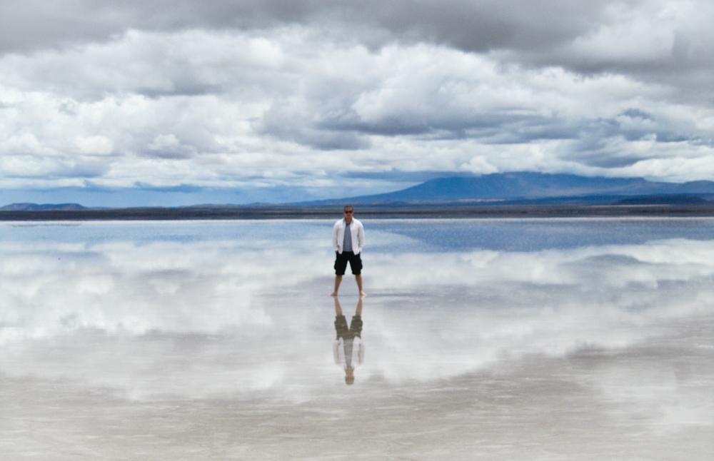 Walking on Water Bolivia