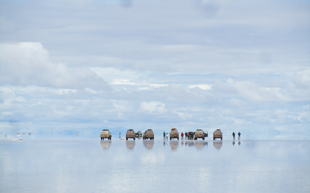 Walking on Water in Bolivia