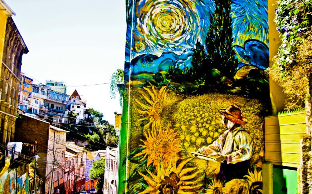 Best graffiti in Valparaiso