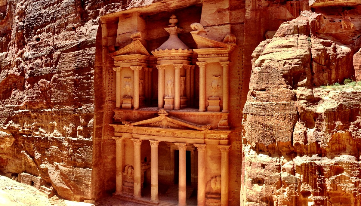 Sneaking Into See Petra From Above