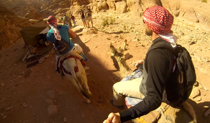 Donkey Ride at Jordan