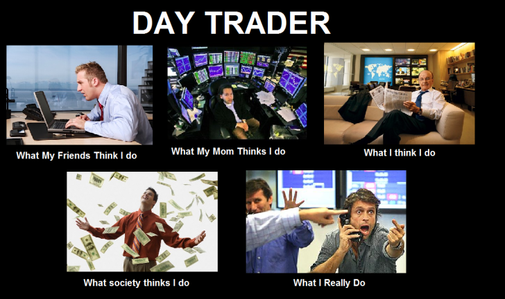 Day in the life of options trader