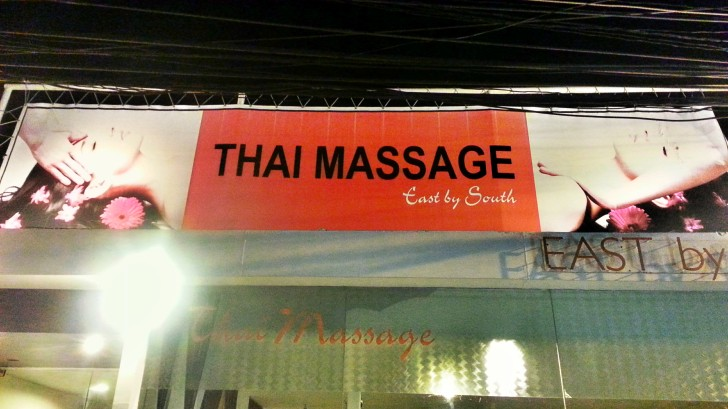 massages in Thailand