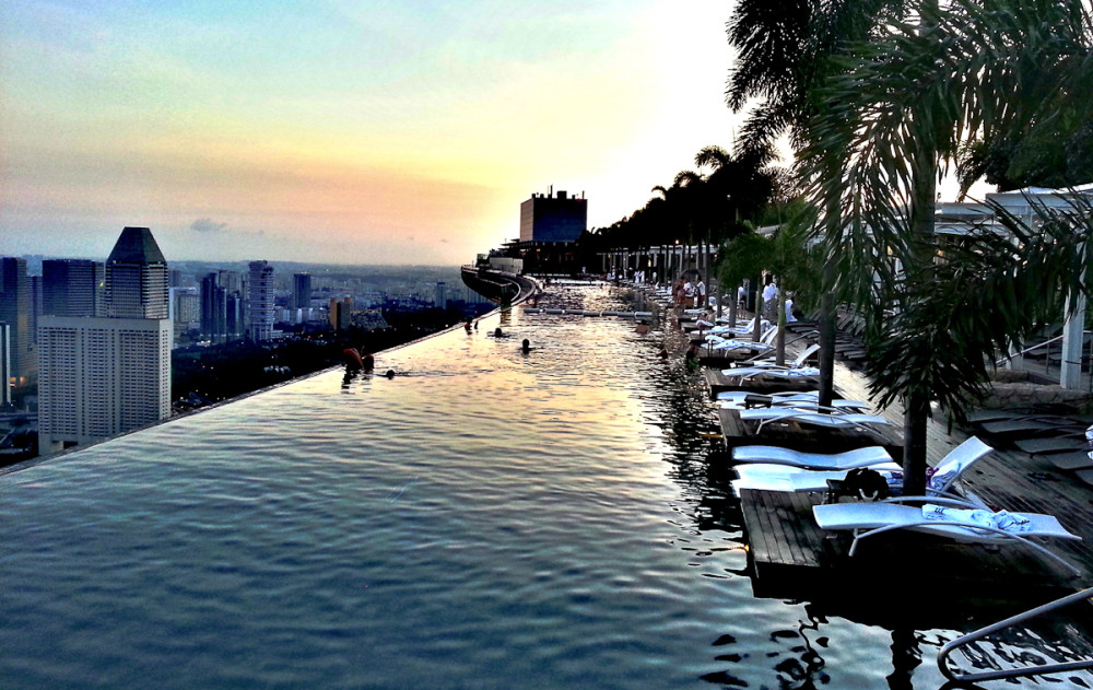 The incredible rooftop pool in singapore - Rooftop swimming pool in singapore ...