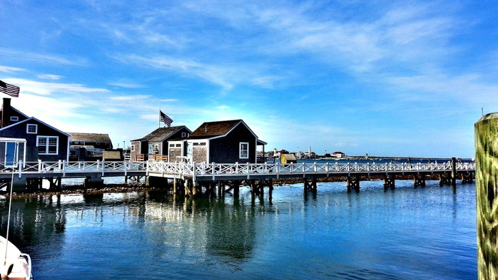 The Town Pier on Nantucket Island
