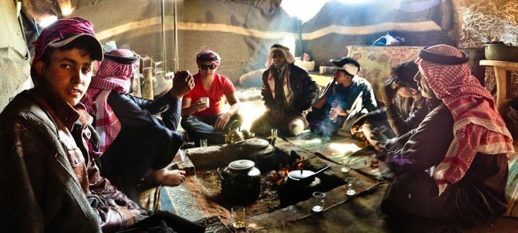 Drinking Bedouin Whiskey