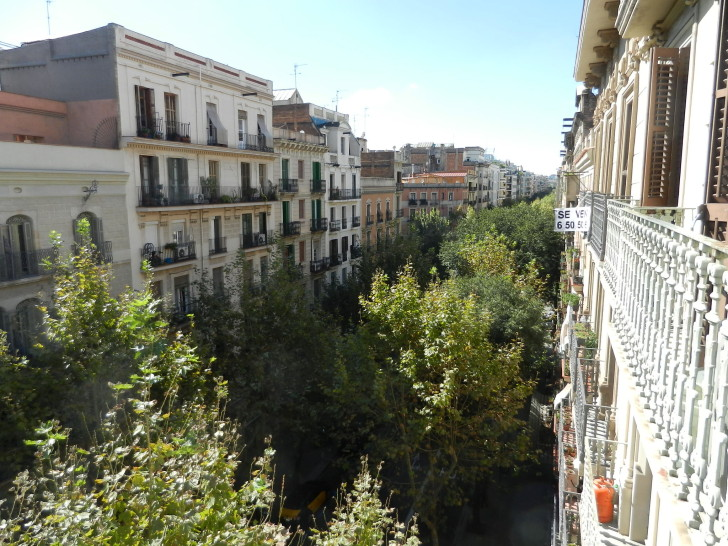 """The view I had from my apt in Spain"""
