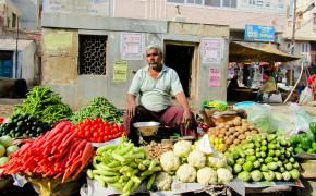 Veggie Shopping in Goa, India