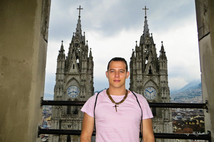 Marcello Arrambide in Quito Ecuador