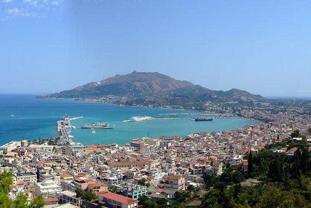 Zakynthos Town Panorama