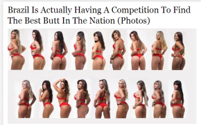 Best Butt In Brazil Competition