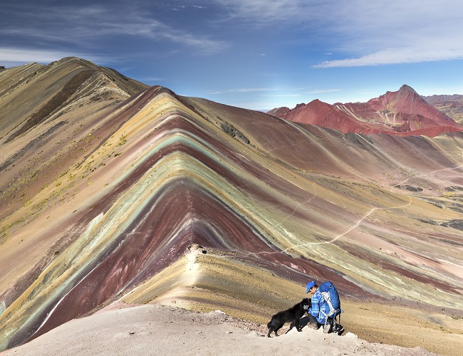 The Rainbow Mountain Just Outside Of Cusco Is Quickly Becoming A Top Destination For Those Really Seeking Unique Experience And Want To See True
