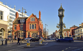 """Chamberlain Clock and the Rose Villa Tavern, Jewellery Quarter, Birmingham UK"" by Brian Clift - Flickr: Chamberlain Clock and the Rose Villa Tavern, Jewellery Quarter, Birmingham UK. Licensed under Creative Commons Attribution 2.0 via Wikimedia Commons - http://commons.wikimedia.org/wiki/File:Chamberlain_Clock_and_the_Rose_Villa_Tavern,_Jewellery_Quarter,_Birmingham_UK.jpg#mediaviewer/File:Chamberlain_Clock_and_the_Rose_Villa_Tavern,_Jewellery_Quarter,_Birmingham_UK.jpg"