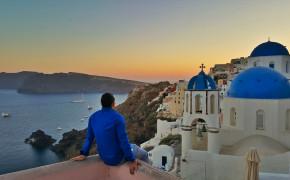 Popular Blue Domes Santorini