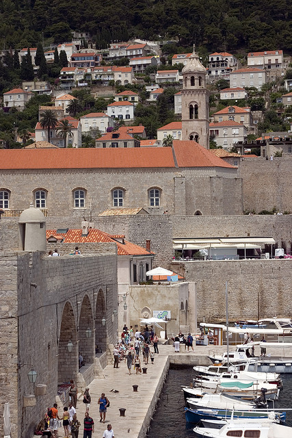 outer wall of Dubrovnik