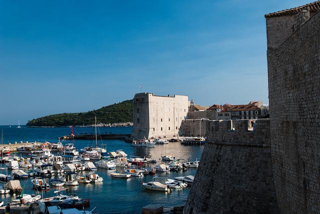 marina at Dubrovnik