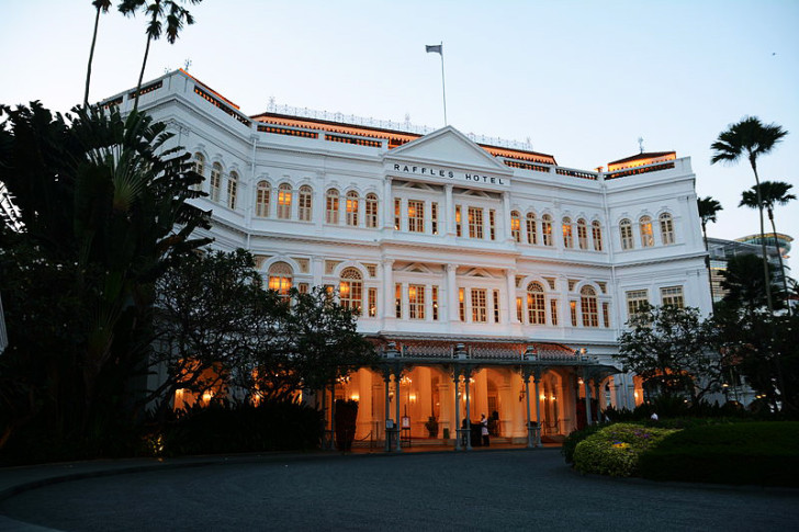 Attractions Singapore raffles hotel