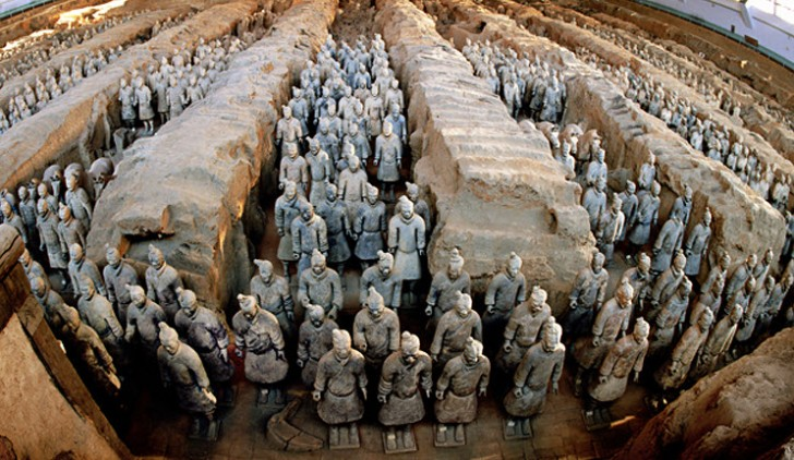 Terracotta Army Locations