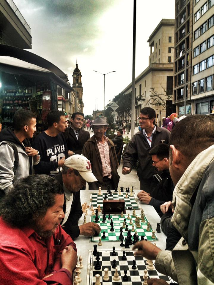 Visiting Bogota