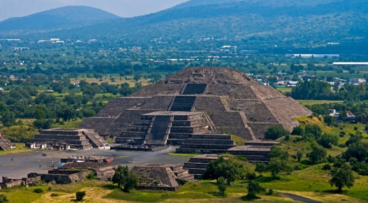 Pyramid Of The Sun At Teotihuacan Mexico: Birthplace Of The Gods -  WanderingTrader