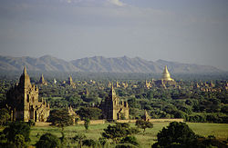 The Magnificent Historical Buddhist Temples Of Bagan In Myanmar