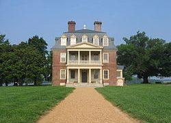 Historic Shirley Plantation Along The James River In Virginia