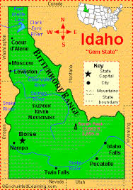 Shoshone Idaho Map.Shoshone Falls A Natural Wonder On The Snake River In Idaho