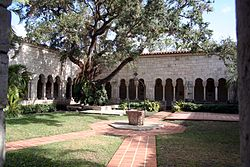 Ancient Spanish Monastery Of Florida: The St. Bernard de Clairvaux Church