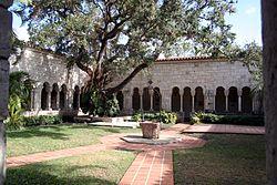 Ancient Spanish Monastery Of Florida: The St. Bernard de Clairvaux Church
