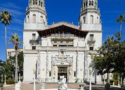 Architectural Wonders Of The Hearst Castle In San Simeon, California