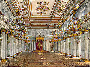 The Hermitage Museum And Winter Palace Of St Petersburg