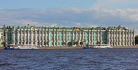 The Hermitage Museum And Winter Palace Of St. Petersburg Russia