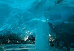 The Surreal Ice Caves Of Mendenhall Glacier In Juneau Alaska