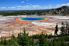 Grand Prismatic In Wyoming Is The Largest Hot Spring In The United States