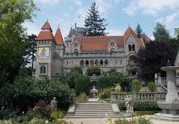 The Fairy Tale Castle of Jeno Bory In Szekesfehervar Hungary