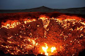 Darvaza Gas Crater: The Door To Hell In The Karakum Desert Of Turkmenistan